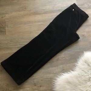 Lauren Ralph Lauren Pants & Jumpsuits - Ralph Lauren ladies Black Velour Lounge Pant L